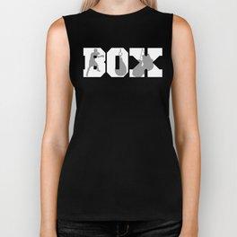 Box Boxing Silhouettes Boxer Biker Tank