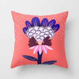 Fabuluscious Flower Throw Pillow