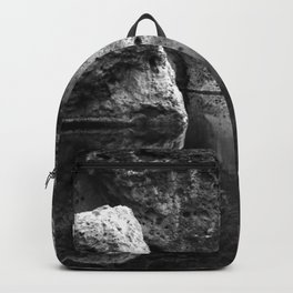 Boulder Reflection on Water Backpack