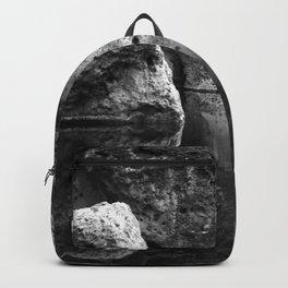 Boulder Reflection on Water Backpack