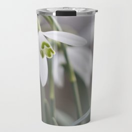 snowdrops Travel Mug