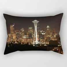 Simply Seattle Rectangular Pillow