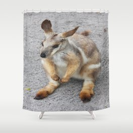 Wallaby Shower Curtain