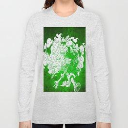 fire luffy Long Sleeve T-shirt