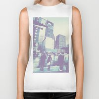 dallas Biker Tanks featuring Main & Dallas  by bryantwashere