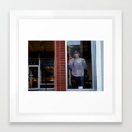 Search Framed Art Print