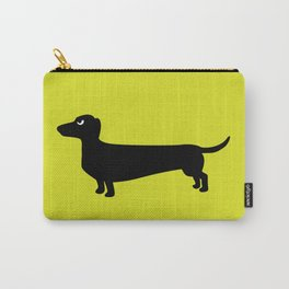 Angry Animals: Dachshund Carry-All Pouch