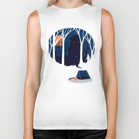 scary Biker Tanks featuring Scary story by SpazioC