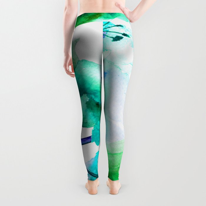 Flowers 05 Leggings