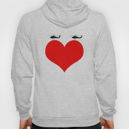 make love, not war Hoody