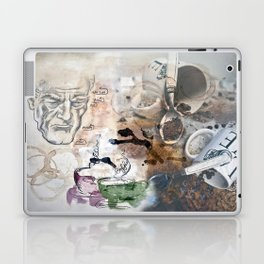 Becoming Human with First Cup Laptop & iPad Skin