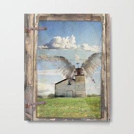 Archangel Azrael Metal Print