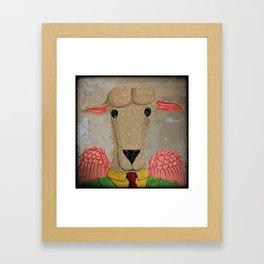 Micalef Sheep Framed Art Print