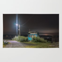 Salem Willows at night Rug