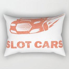 Slot Car Racing Racer My Slot Car Funny Saying Gift Rectangular Pillow