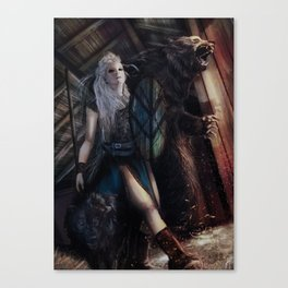 Lagertha Canvas Print