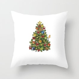 Christmas Movie Gift Griswold National Lampoon Dark Light Throw Pillow