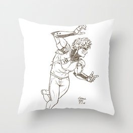 Genos Throw Pillow