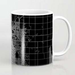 Lincoln map Nebraska Coffee Mug