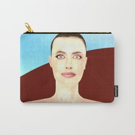Angel Red Carry-All Pouch