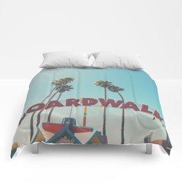 Santa Cruz boardwalk ... Comforters