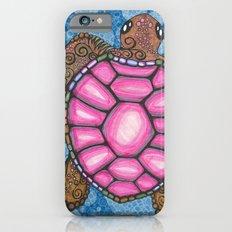 Bubblegum Pink Sea Turtle Slim Case iPhone 6s