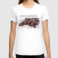 north carolina T-shirts featuring NORTH CAROLINA by Christiane Engel