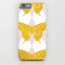 Honey Swallowtail Butterfly iPhone Case