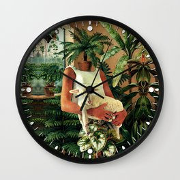 Icelandic Life Wall Clock