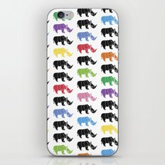Rhino paper iPhone & iPod Skin