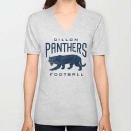 Dillon Panthers Football Unisex V-Neck