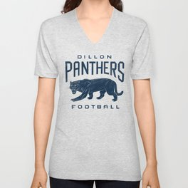 Dillon Panthers Football Unisex V-Neck