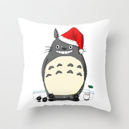Christmas Santa Style Throw Pillow
