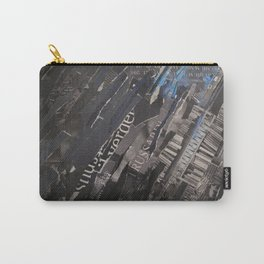 collage black and blue Carry-All Pouch