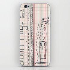 Blank page iPhone & iPod Skin