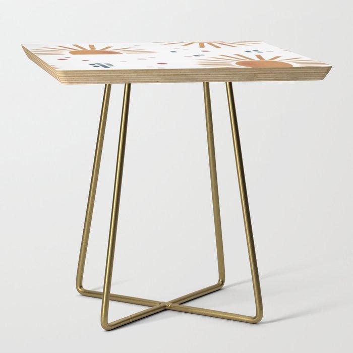 sunbursts Side Table