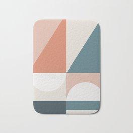 Cirque 02 Abstract Geometric Bath Mat