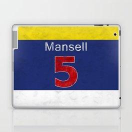 Mansell Red 5 Laptop & iPad Skin
