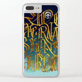 Ride Eternal Shiny & Chrome Clear iPhone Case