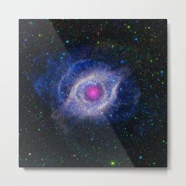 1445. The Helix Nebula: Unraveling at the Seams Metal Print