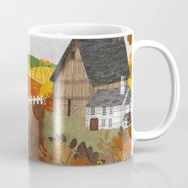 Autumn Village Coffee Mug