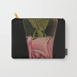 Flowers Drowning series - Rose Carry-All Pouch