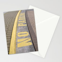 Where Not to Park Stationery Cards