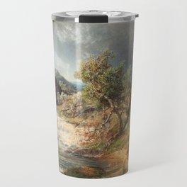 Alfred Wahlberg (1834-1906) 1866 · Summer Landscape Travel Mug