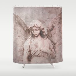 A Guardian Angel, To Watch Over Us A322b Shower Curtain