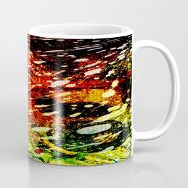 Colored Glass Coffee Mug