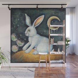 The White Rabbit Wall Mural