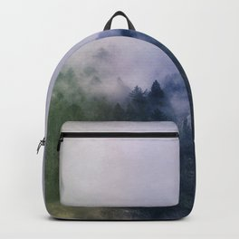 Forest Cump At Autumn Backpack