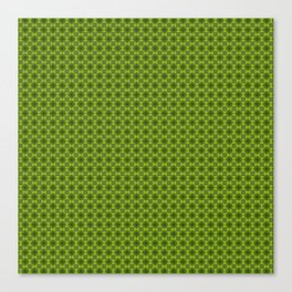 Fragment collection : Green apple Canvas Print