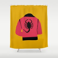 drive Shower Curtains featuring Drive by FilmsQuiz